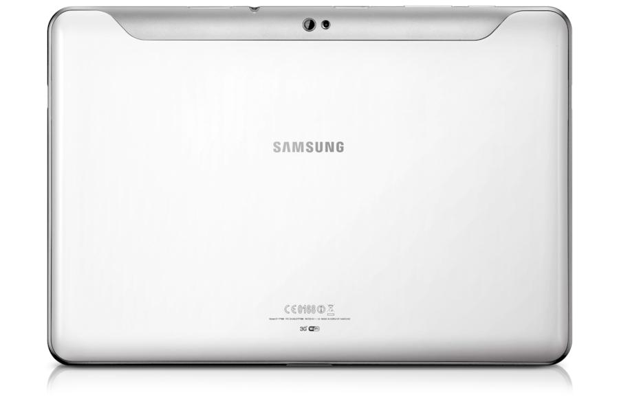 Galaxy Tab (10.1, 3G) P7500/M16 Vista posteriore