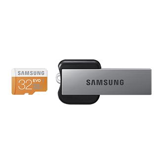 Scheda microSDHC EVO 32 GB (USB 2.0)