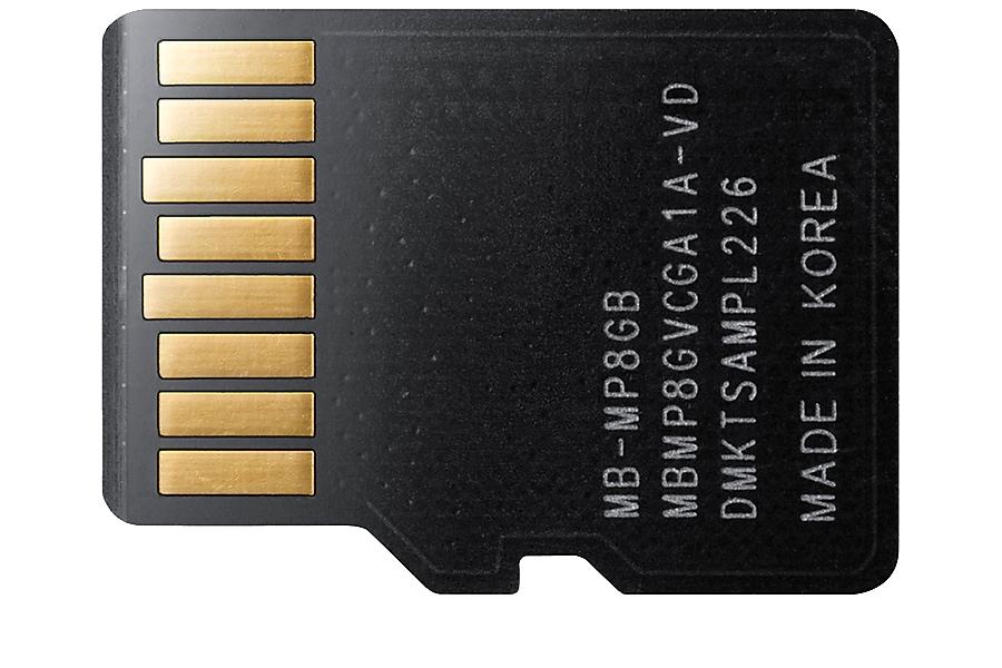 MB-MP8GB Vista Posteriore Nero