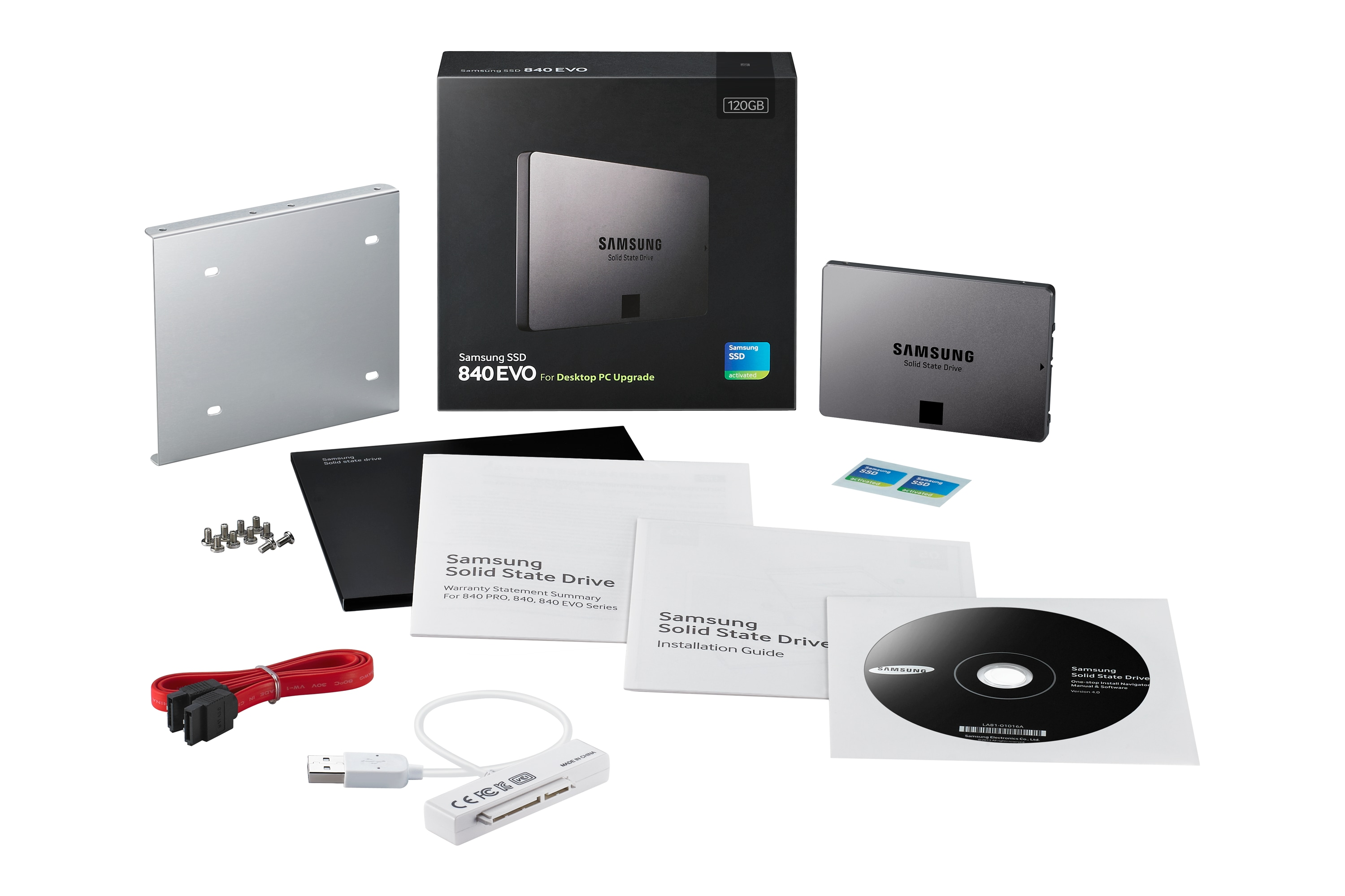 SSD 840 EVO - 120 GB - 2.5 SATA III - Desktop Kit