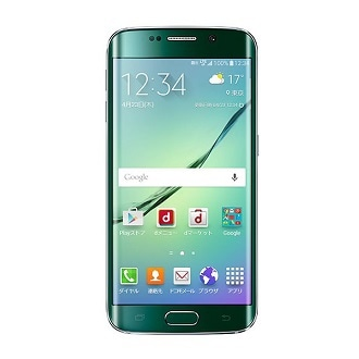 SM-G925D Front Green