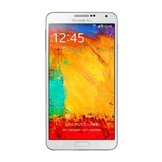 SM-N900D ドコモスマートフォン Galaxy Note3 White