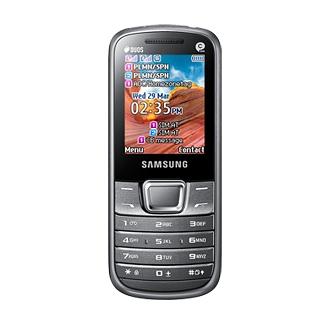 GT-E2252 Вид спереди Серебристый Samsung E2252 (GT-E2252)