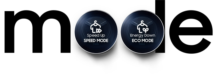 Choose from 3 modes