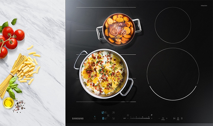 Flexibly cook even more dishes together