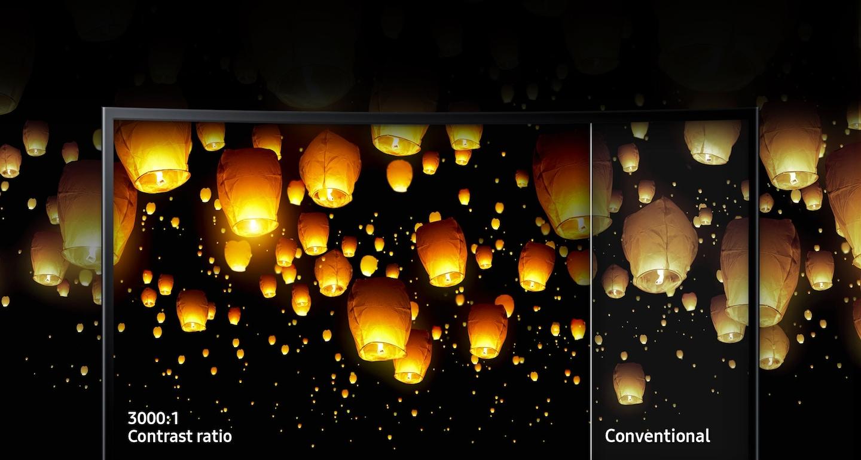 Превосходное качество изображения благодаря технологии усовершенствованного отображения от Samsung.