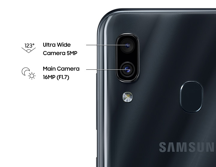 Dual camera to capture your wider world