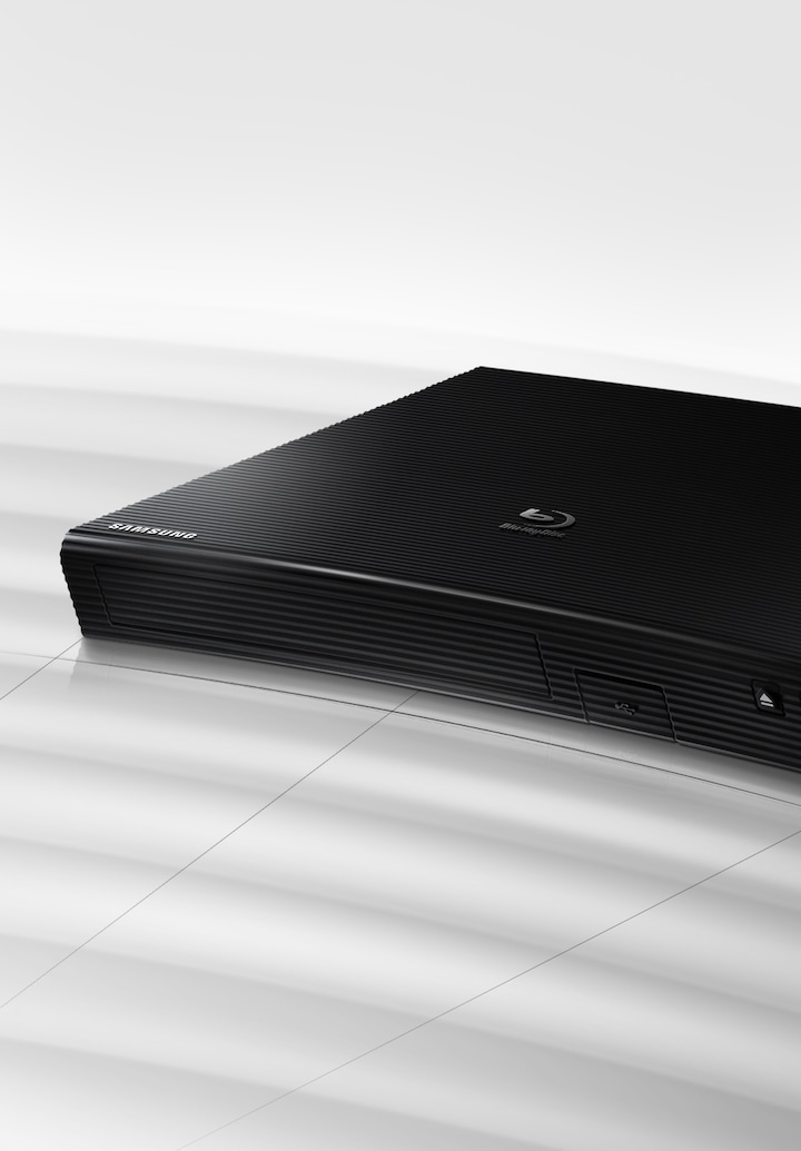 For the first time in history, the Blu-Ray gets a curved design makeover