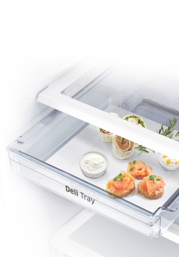 Easily organize and serve deli foods