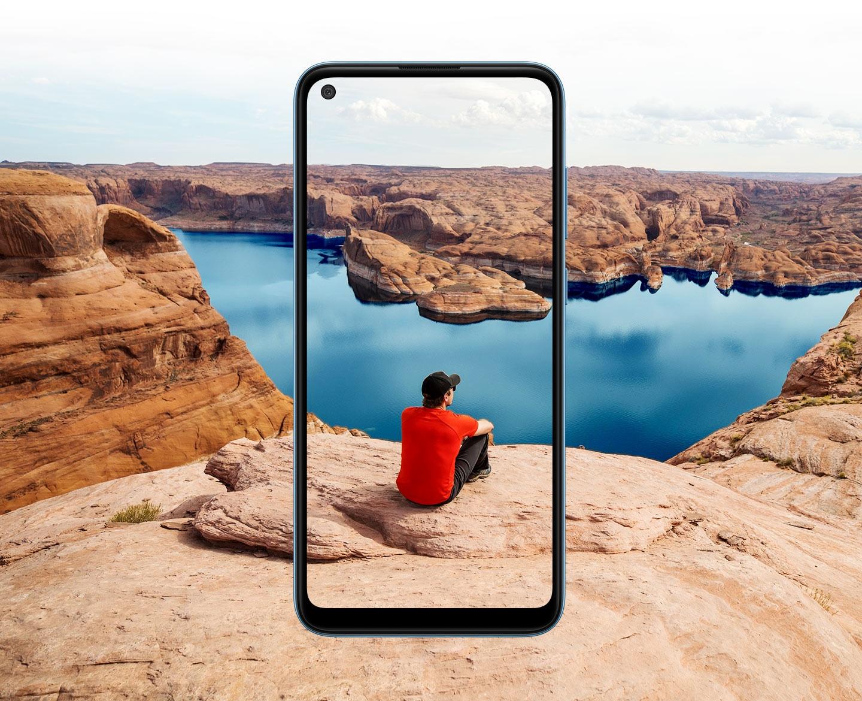 Una pantalla grande para una mejor vista