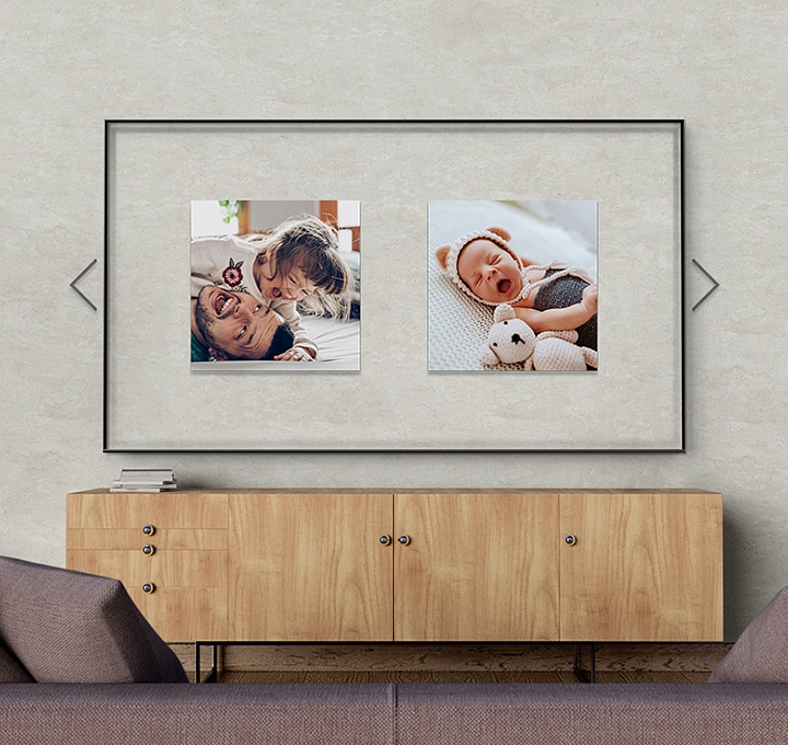 Decorate the spaces with your favorite photos