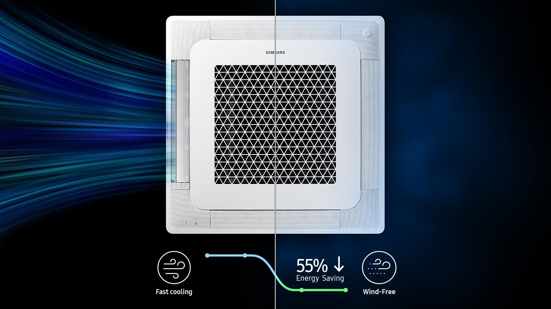 Ahorro de energía con WindFree™ Cooling
