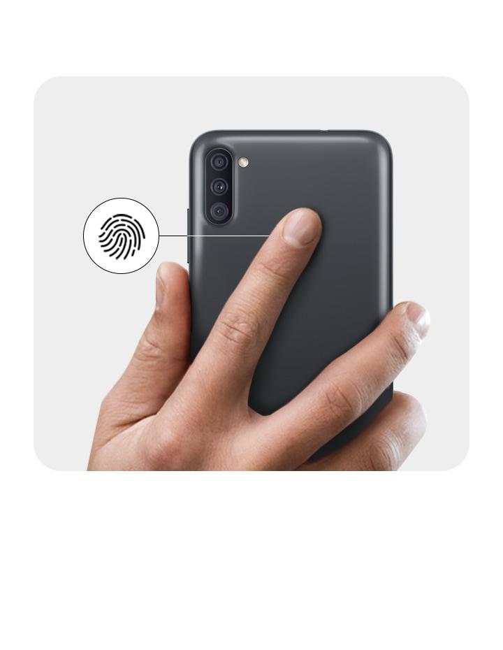 Samsung Galaxy A11 - Huella digital