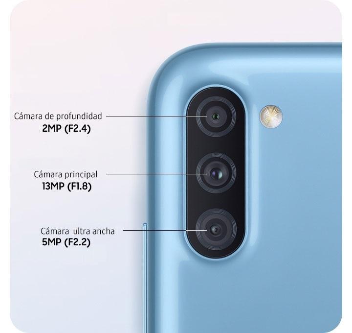 Triple cámara para capturar tus momentos en vivo