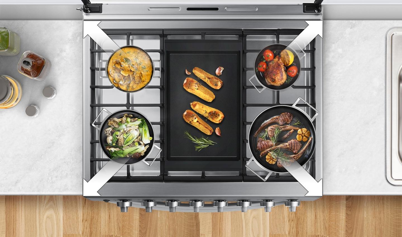 Cocine de manera más conveniente y segura