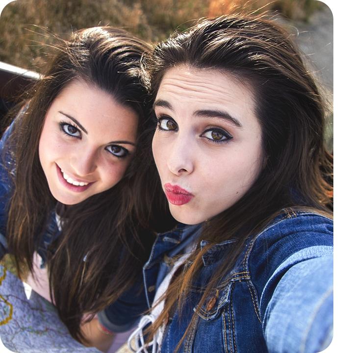 El modo SelfieFocus capta más de ti en tus selfies