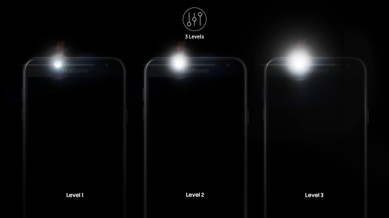 Tres niveles de brillo