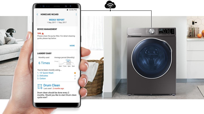 Lavadora con inteligencia artificial