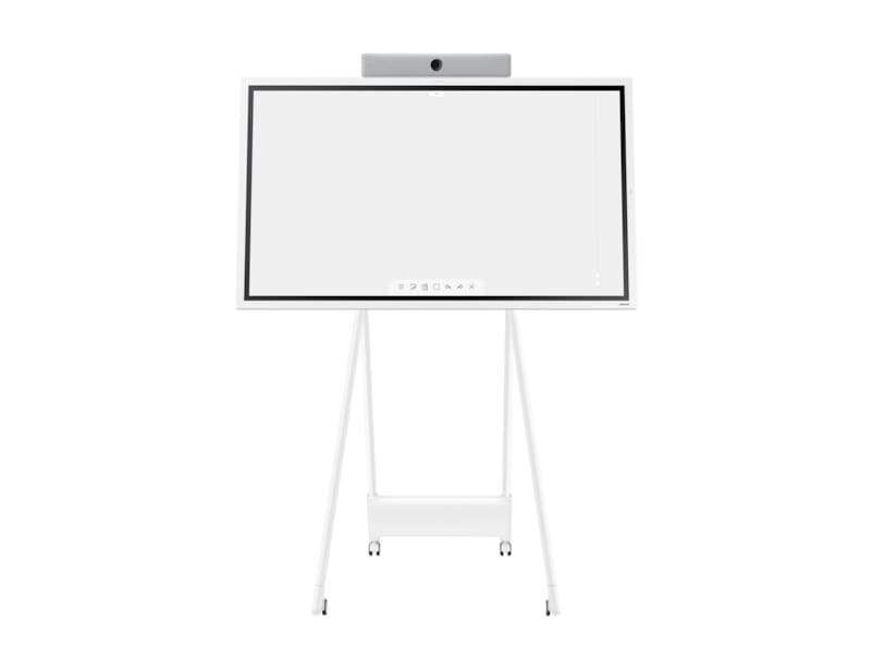 front-with-webex-on White