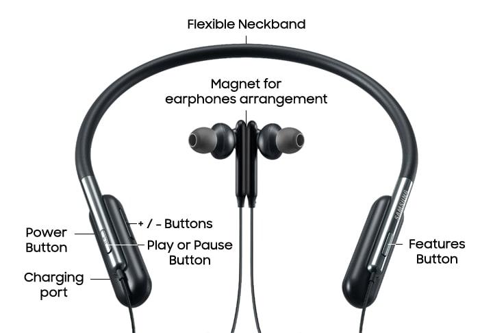 Samsung U Flex Headphones Eo Bg950 Eo Bg950cbegww Samsung Latin En