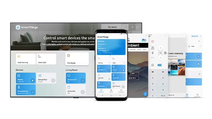 SmartThings App'Just One App for All'