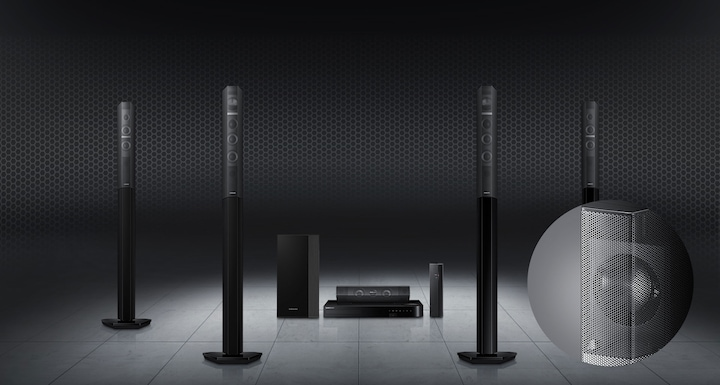 Streamlined see-through design meets ultimate sound