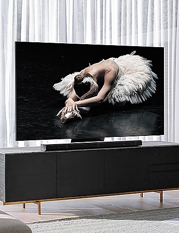 TV on the furniture