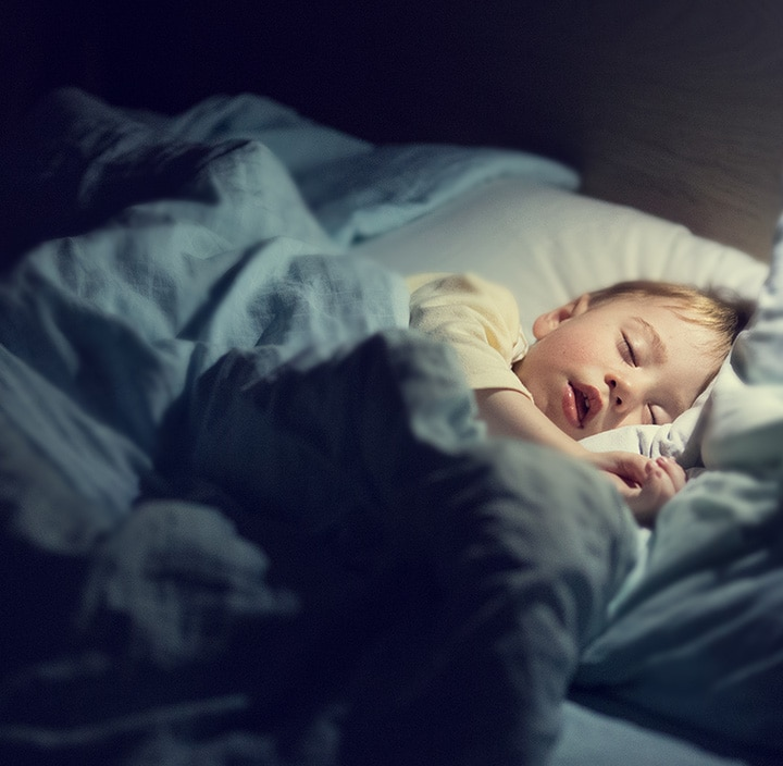 Sleep much better throughout the night