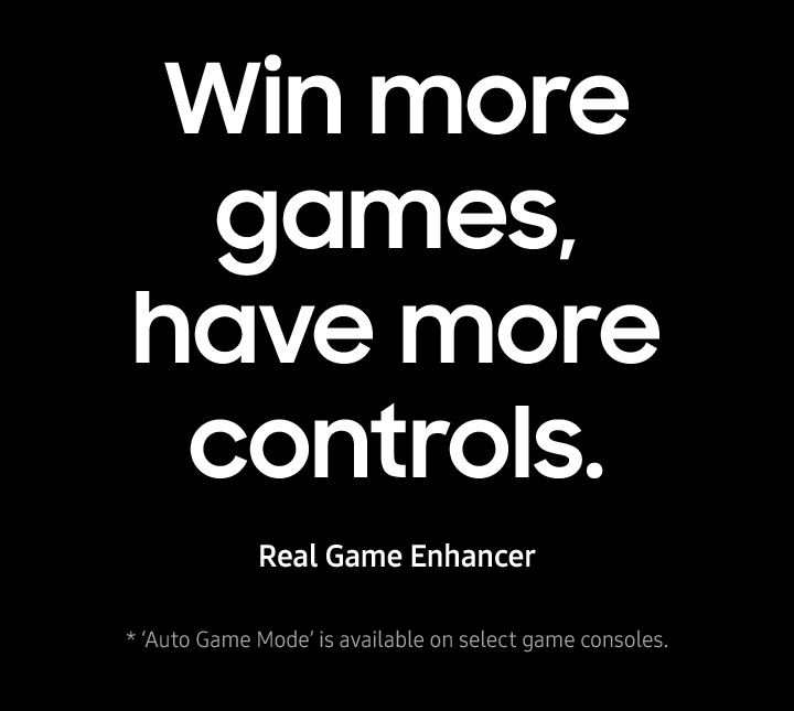 Win more games, have more controls