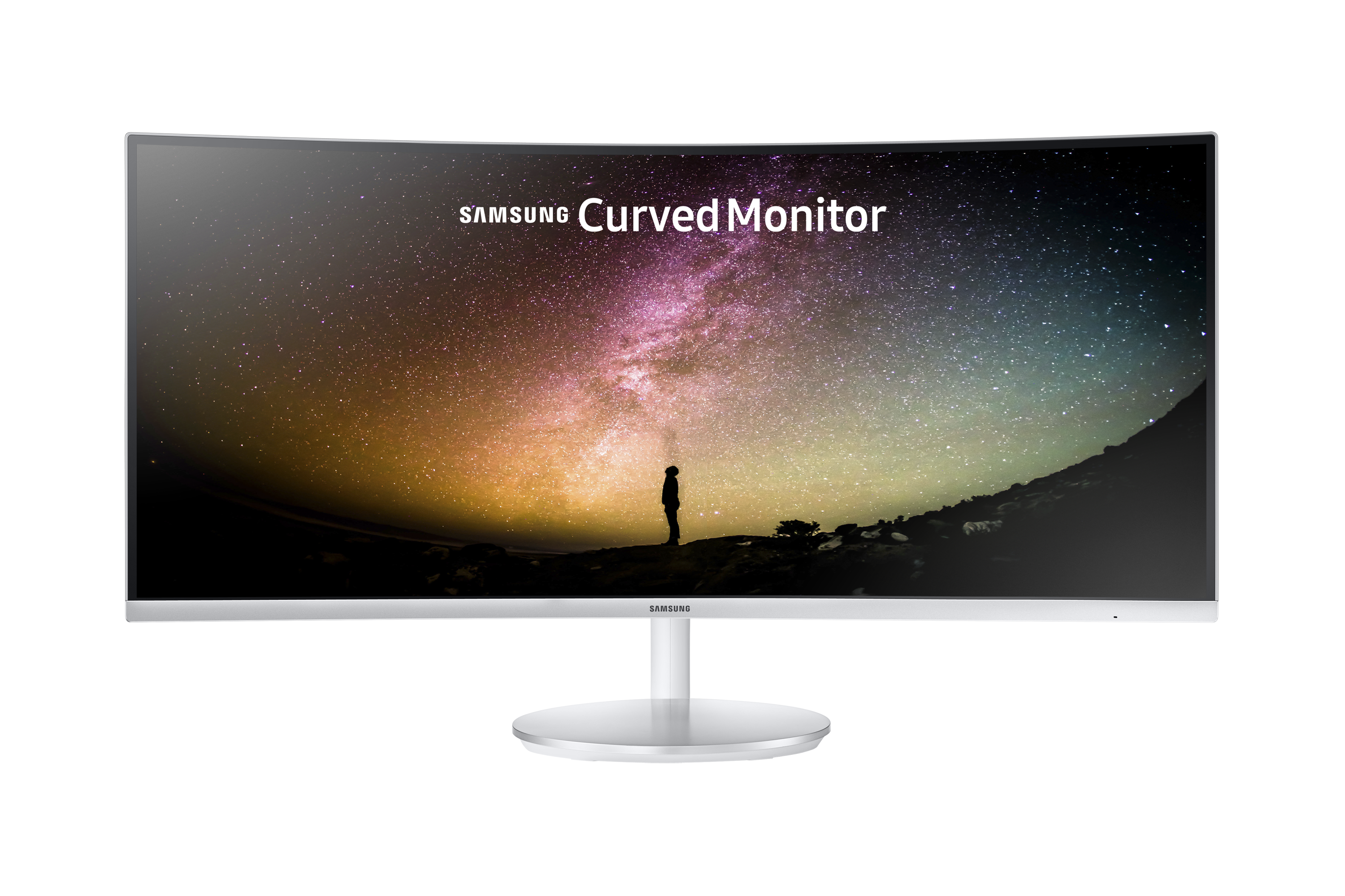 "34"" Premium Curved Monitor with greater viewing comfort & perfect multi-tasking"