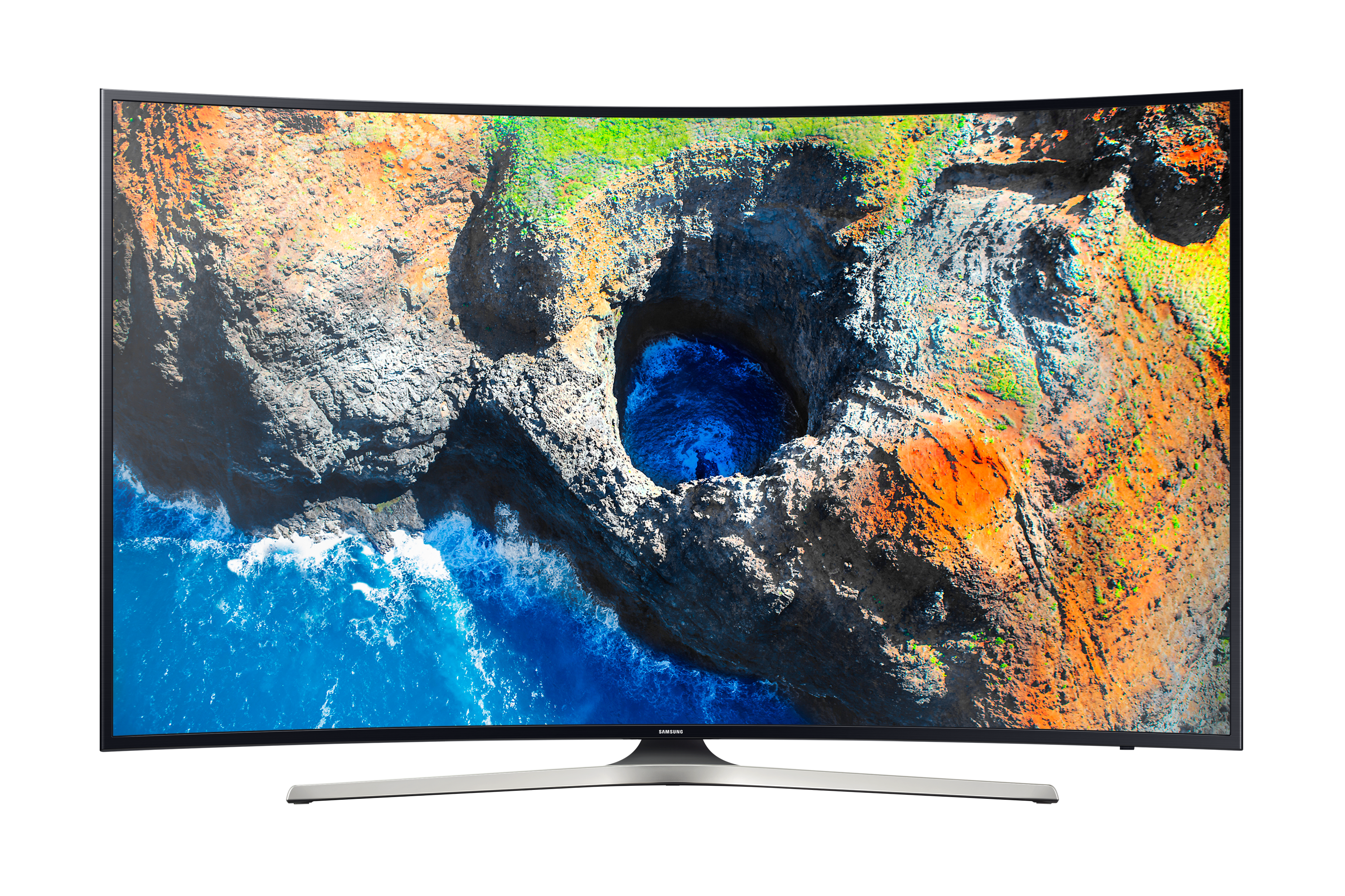 "55"" MU7350 Curved Smart 4K UHD TV"