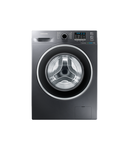 samsung 8kg front load washing machine wf80f5ehw4x fh. Black Bedroom Furniture Sets. Home Design Ideas