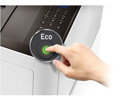 """""""One Touch Eco"""" mygtukas"""