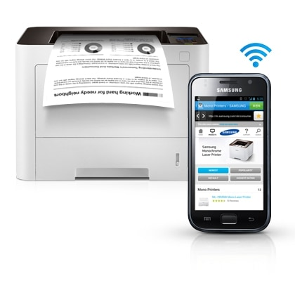 Convenient mobile printing optimized for various business environment