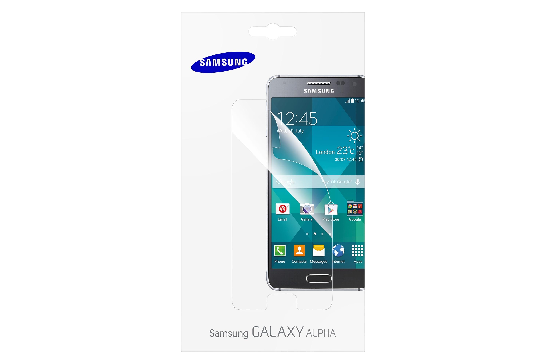 Galaxy Alpha ekrano apsauga