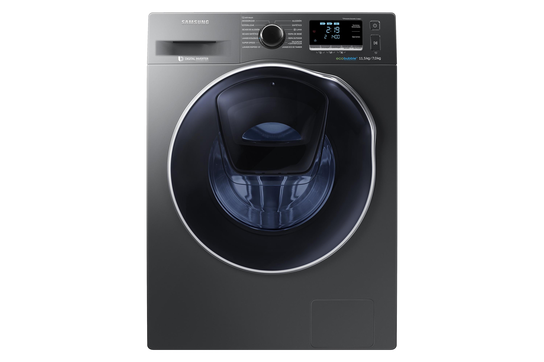 Lavadora add wash de 11 kg wd11k6410ox carga frontal for Cuanto pesa lavadora