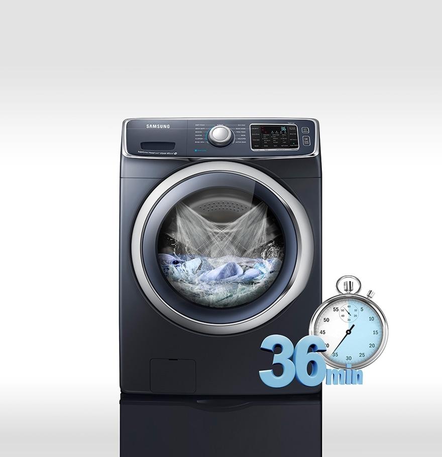 Lavado rápido y eficiente