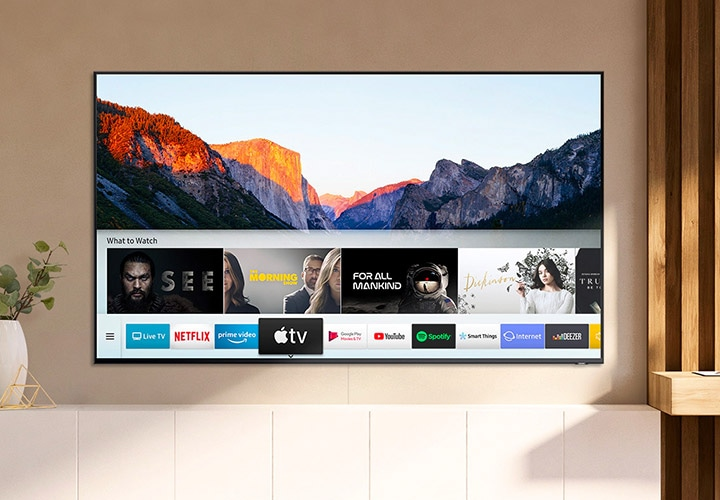 QLED compatible con Apple TV