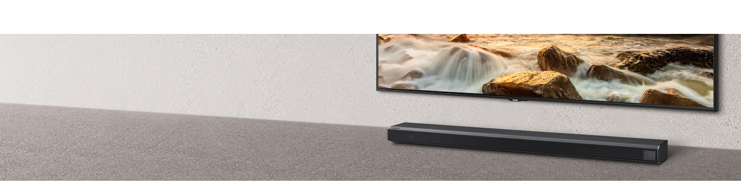 Q Soundbar optimizada para QLED 2020