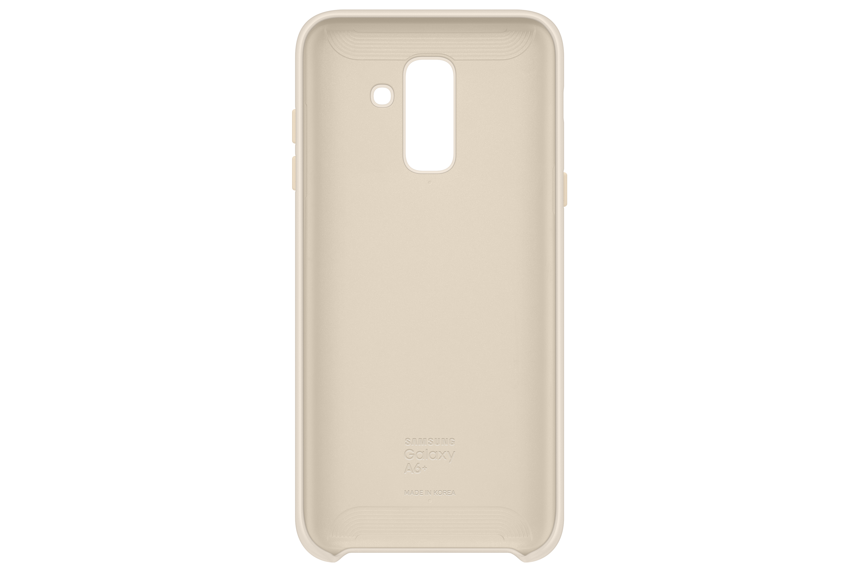 Galaxy A6+ Dual Layer Cover (Gold)