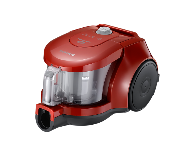 Samsung Vacuum Canister Bagless with Twin Chamber System, Dark Red (VCC4353V4R/XME) 360W