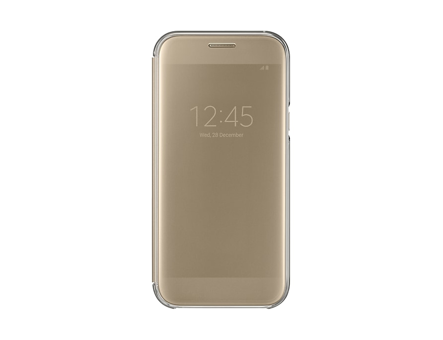 Galaxy A5 2017 Case Front Gold
