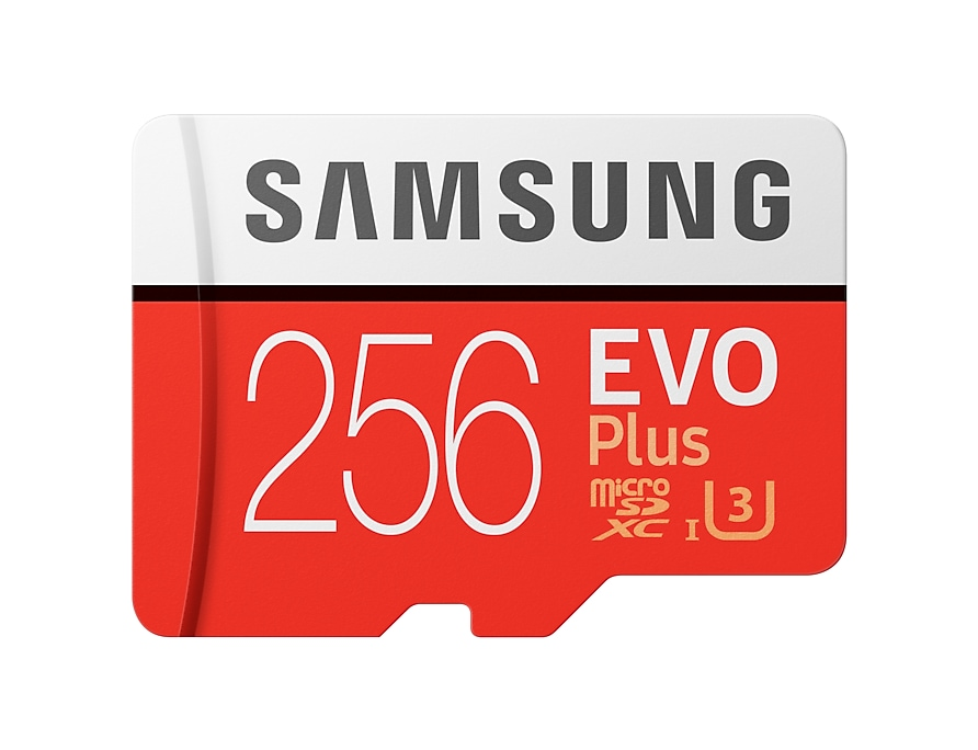 Samsung 64gb evo plus sd card fast performance price malaysia front red reheart Images
