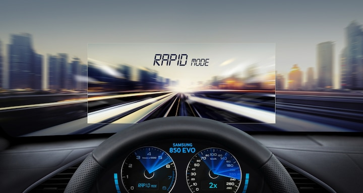 Get into the fast lane with the improved RAPID mode