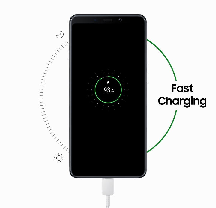 Charges fast, lasts longer