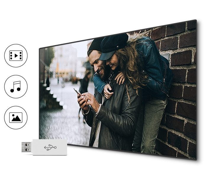 M6300 Curved Smart Full HD TV: Connect share movie