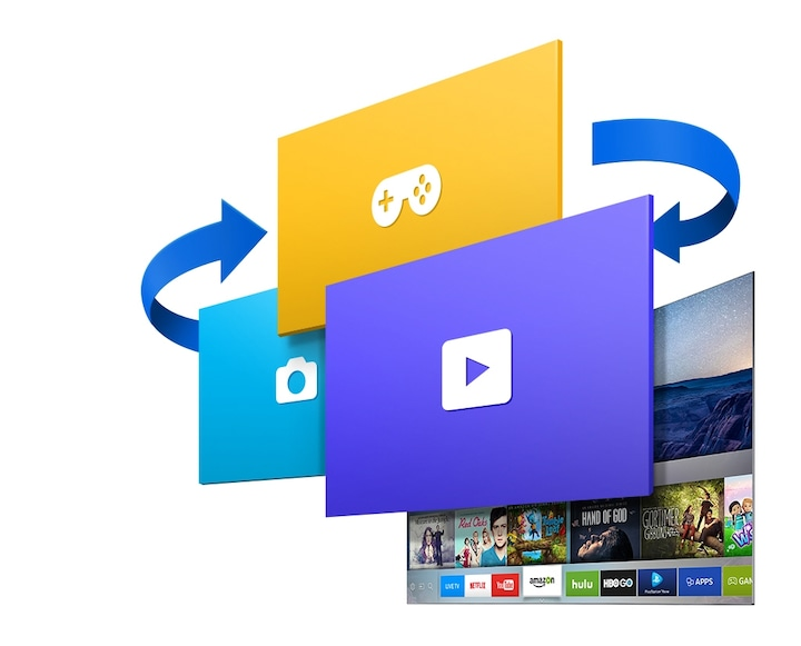 K5500 Smart Full HD TV: Accelerate your Smart TV with Tizen