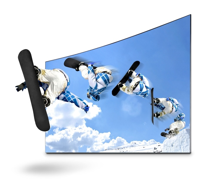 K6300 Curved Smart Full HD TV: Dive into your video content