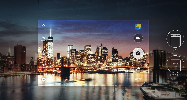 Samsung J1 2016 Brighter, Crisper Photos
