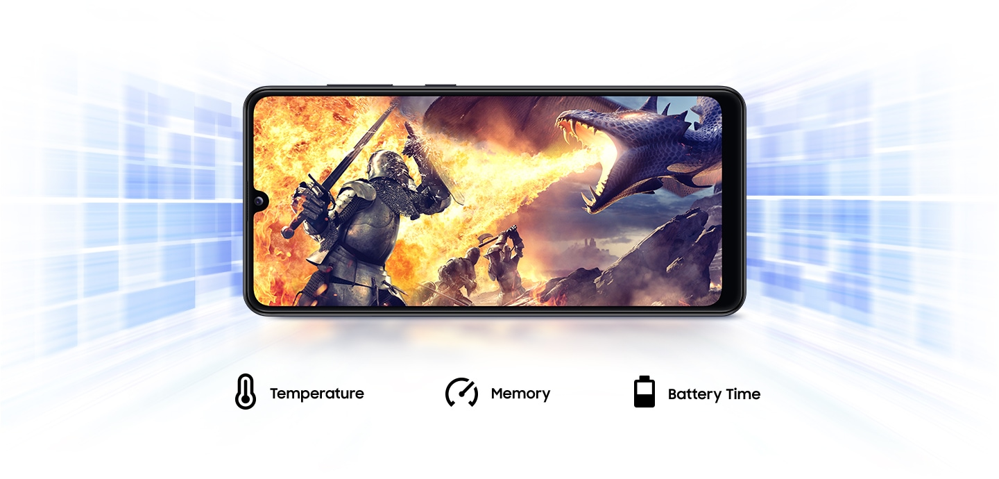Samsung Galaxy A31 with Game Booster